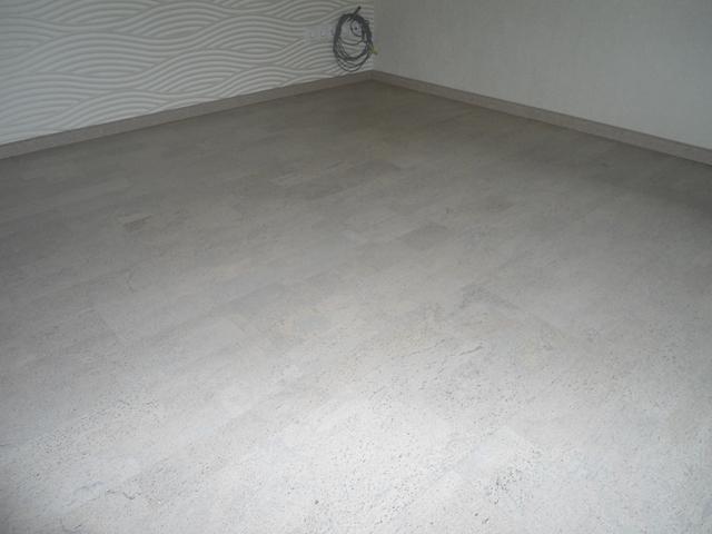 Wicanders Korkboden in Weiß